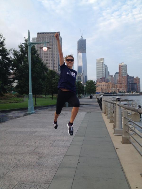 Heidi Klum le 11 août 2012 à New York