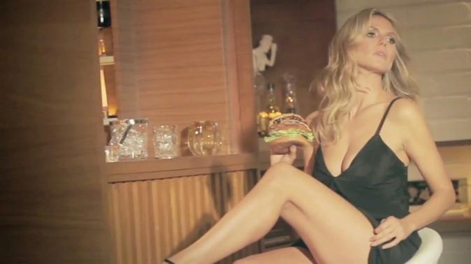 Heidi Klum super hot dans la nouvelle publicité de Carl's Jr. and Hardee's