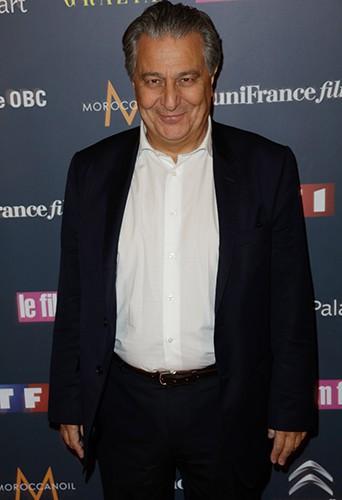 Christian Clavier à Paris le 4 février 2014