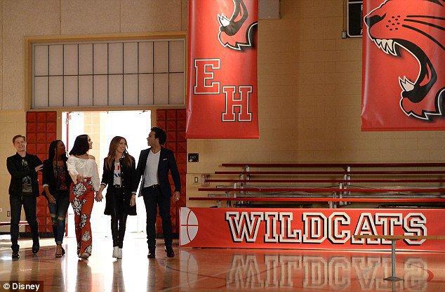 Les acteurs de High School Musical, heureux de se retrouver !