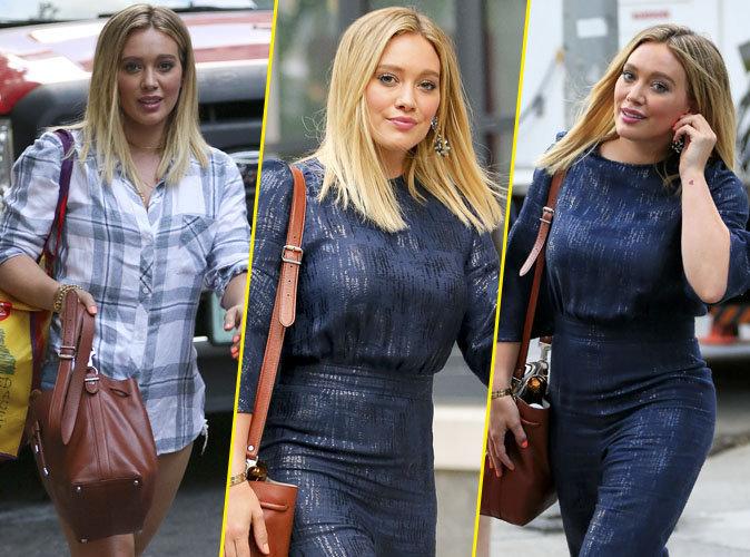 """Photos : Hilary Duff à New York sur le tournage de la série """"Younger"""""""