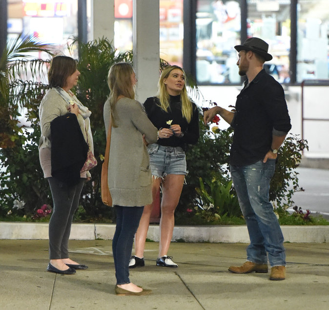 Hilary Duff et Jason Walsh