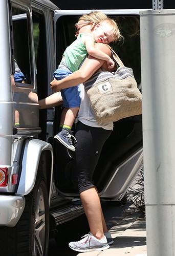 Hilary Duff à Los Angeles le 16 mai 2014