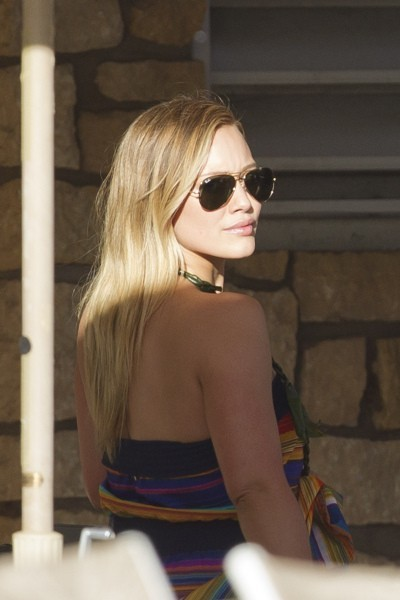 Hilary Duff, Hawaii, 24 février 2013.
