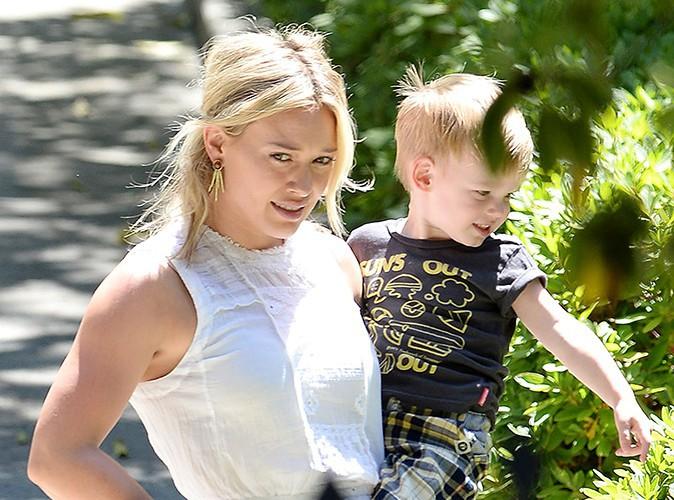 Hilary Duff et son petit Luca à Los Angeles le 19 juin 2014