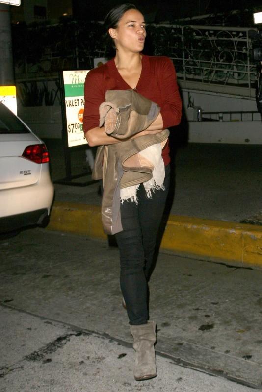 Michelle Rodriguez en mode garçon manqué