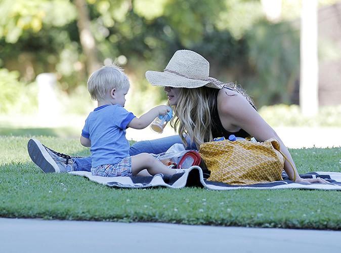 Hilary Duff à Los Angeles le 23 août 2013