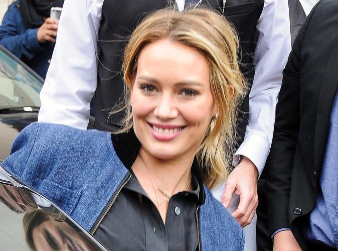 Hilary Duff à Los Angeles le 30 janvier 2014