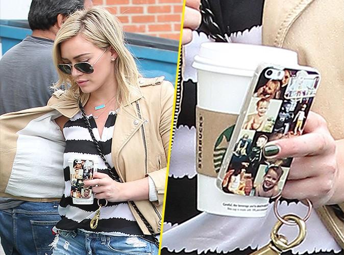 Hilary Duff à Los Angeles le 18 avril 2014