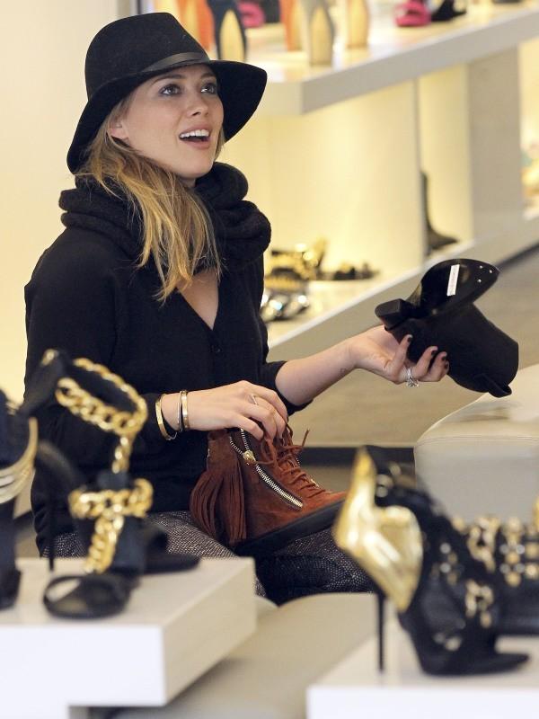 Hilary Duff le 8 mars 2013 à Beverly Hills