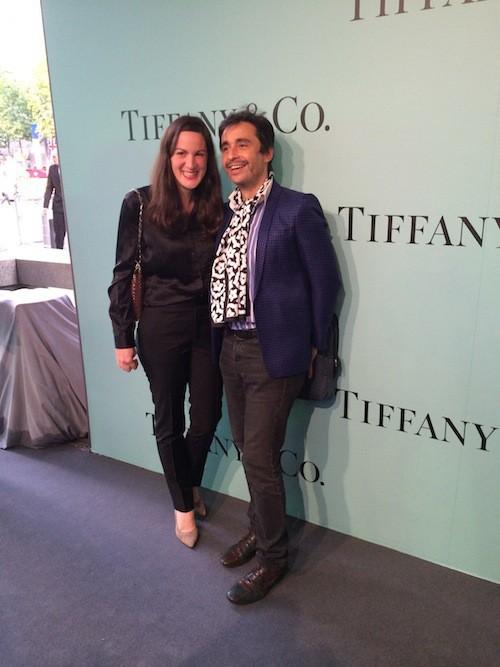 Ariel Wizman à l'inauguration de la boutique Tiffany & Co sur les Champs-Elysées le 10 juin !