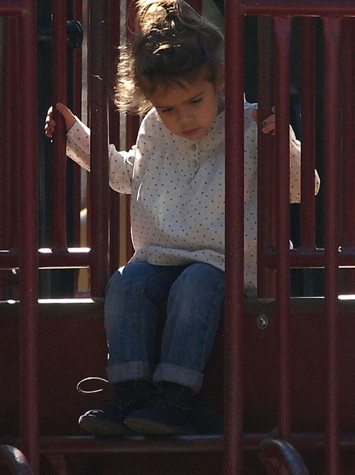 Une enfant épanouie