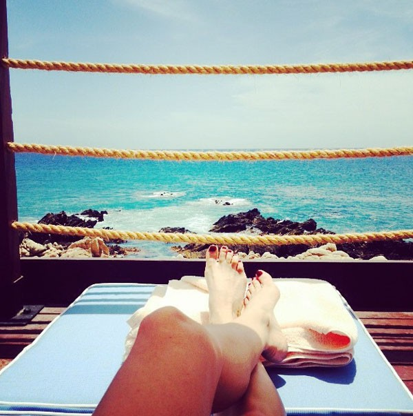 Diane Krüger en vacances au Mexique avant sa venue au Festival de Cannes