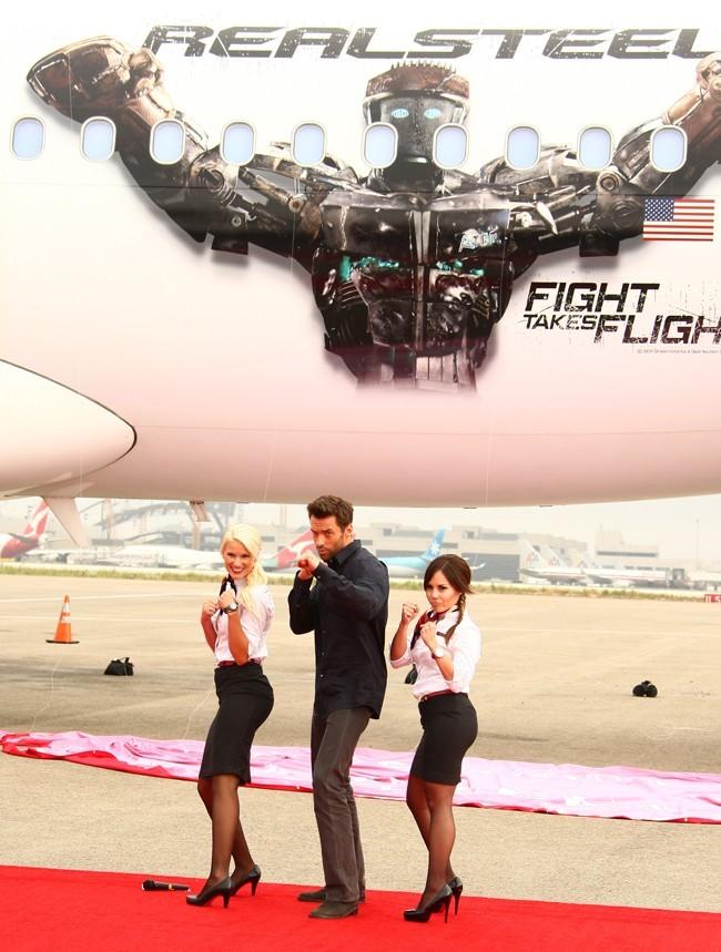 Un avion entier à la gloire d'un film, c'est classe !