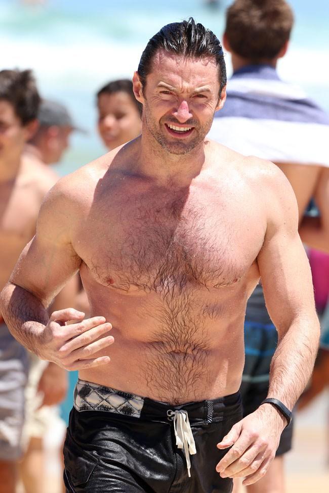 Hugh Jackman à Sydney le 17 décembre 2013