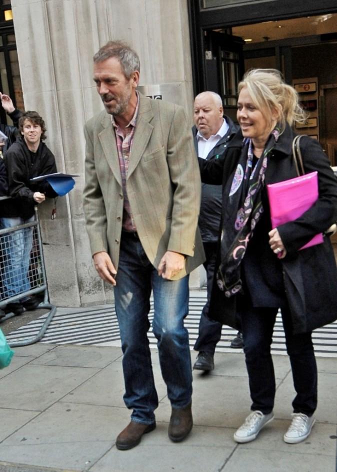Hugh toujours très en forme !