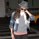 Nina en mode camouflage !