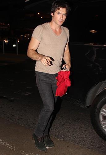 Ian Somerhalder à Los Angeles le 25 juillet 2014