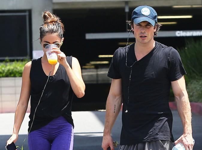 Nikki Reed et Ian Somerhalder à Los Angeles le 25 juillet 2014