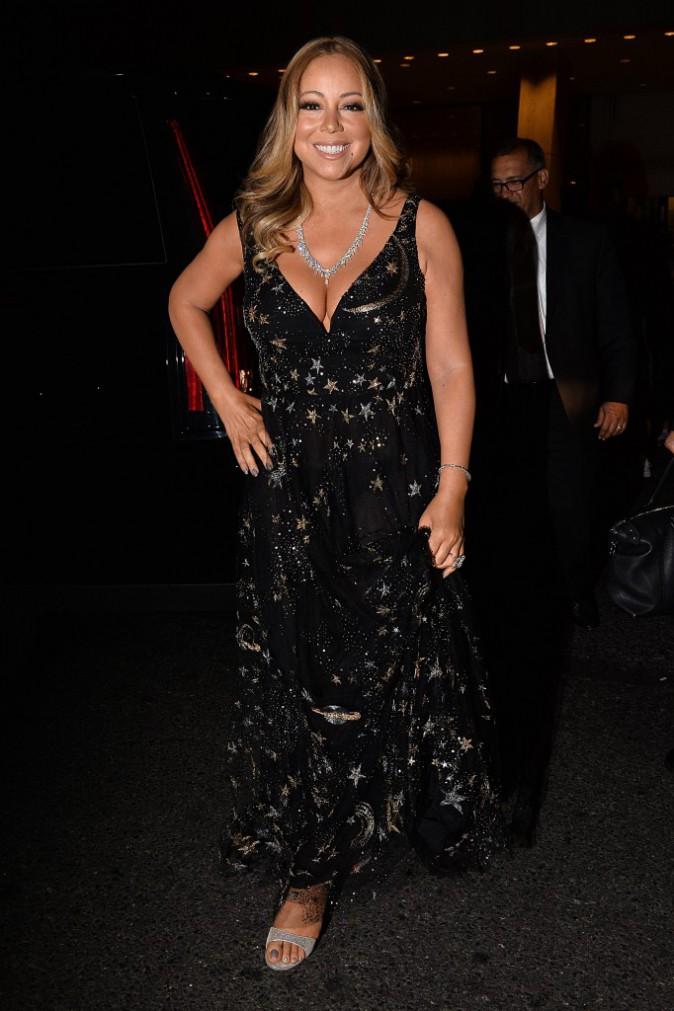 Mariah Carey le 16 septembre 2015