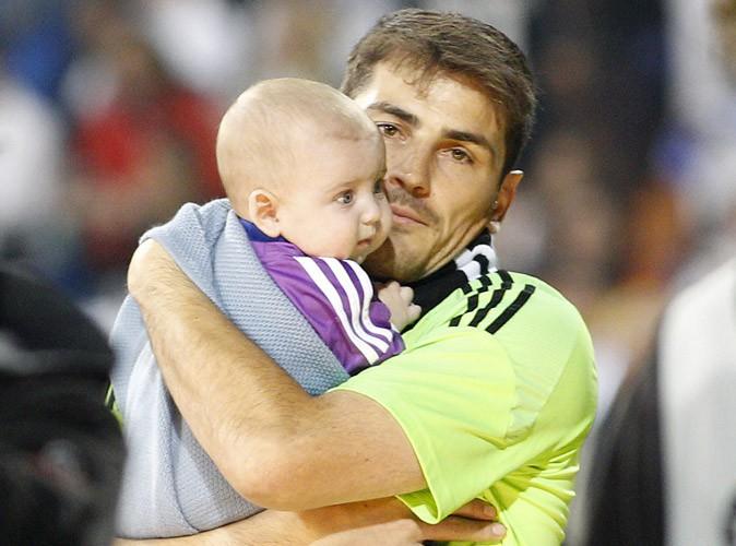 Photos : Iker Casillas : il fête la victoire du Real Madrid avec son adorable Martin !
