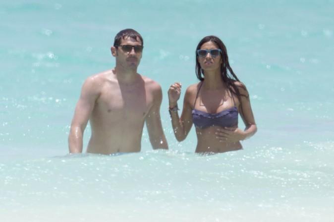 Iker Casillas et chérie Sara Carbonero, 22 juillet 2012, Caraïbes
