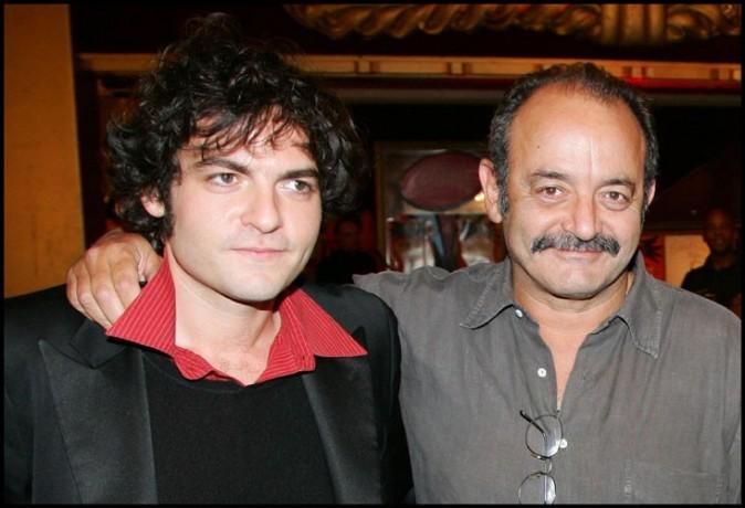 Matthieu Chedid et son père Louis Chedid