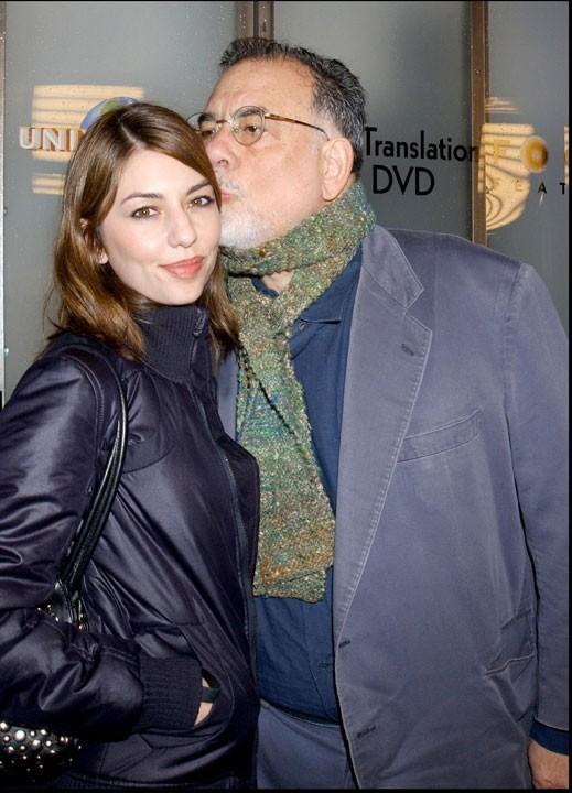 Sofia Coppola et Francis Ford Coppola