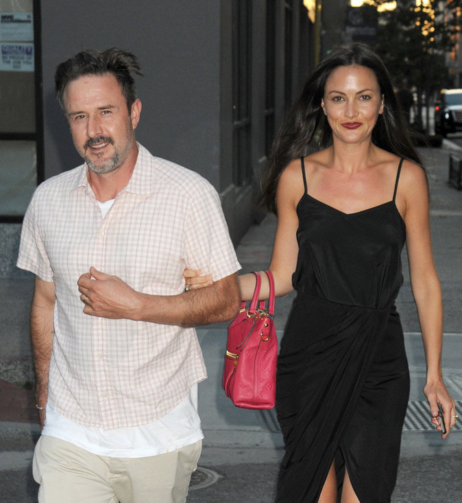 David Arquette et Christina McLarty