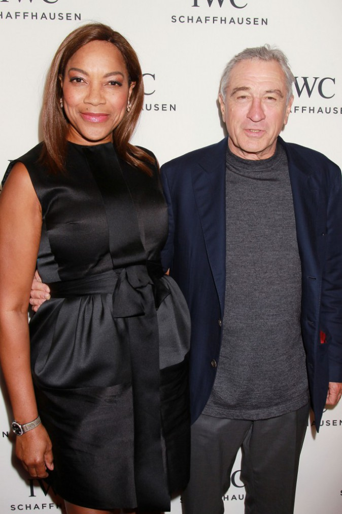 Robert De Niro et Grace Hightower