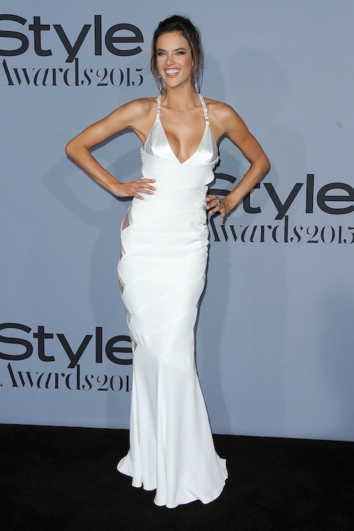 Alessandra Ambrosio à la soirée InStyle Awards 2015, le 26 octobre 2015 à Los Angeles