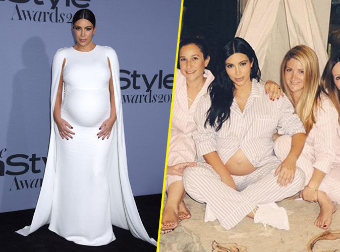 Photos : InStyle Awards 2015 : moulée, Kim Kardashian nous montre encore son ventre nu !