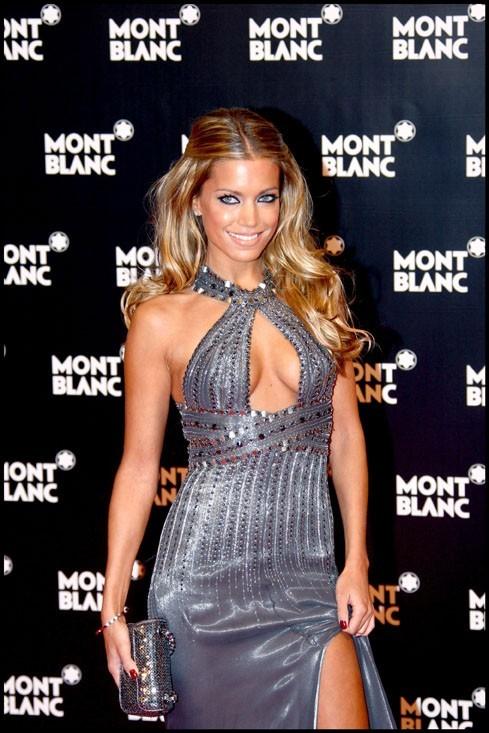 Sylvie Meis : On adore sa robe pudique!