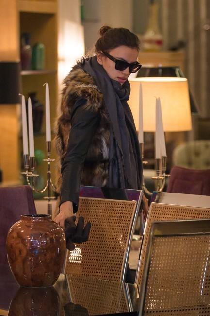 Irina Shayk le 19 décembre 2012 à New York
