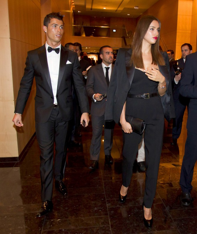 Irina Shayk et Cristiano Ronaldo