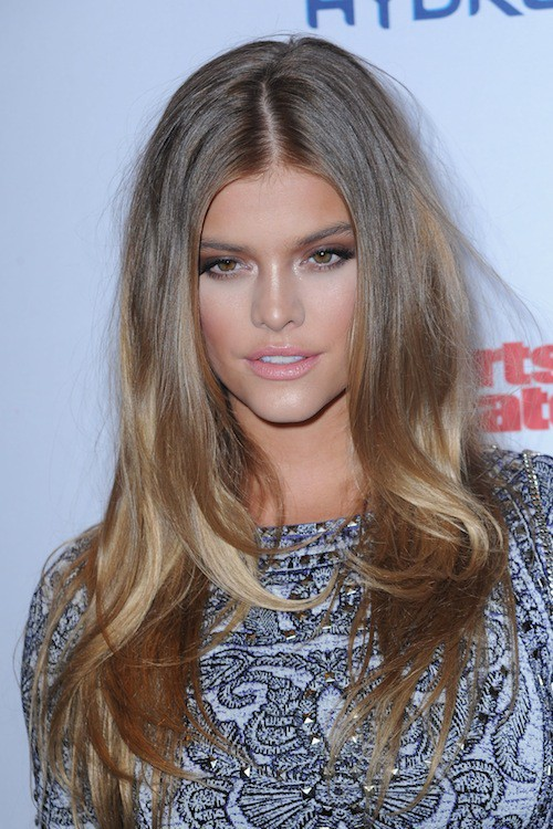 Nina Agdal à la soirée Sports Illustrated à  New York, le 10 février 2015