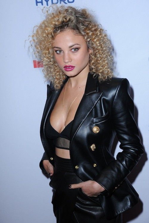 Rose Betram à la soirée Sports Illustrated à  New York, le 10 février 2015