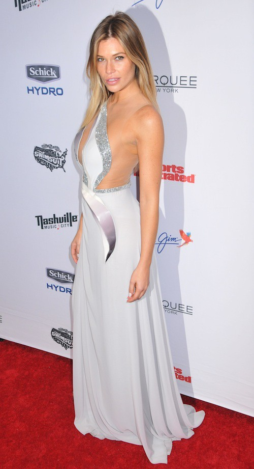 Samantha Hoopes à la soirée Sports Illustrated à  New York, le 10 février 2015