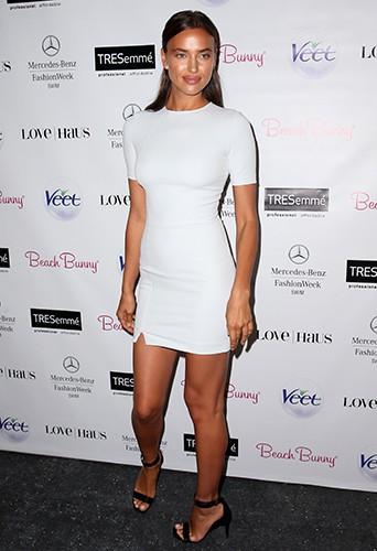 Irina Shayk à New-York le 20 juillet 2013