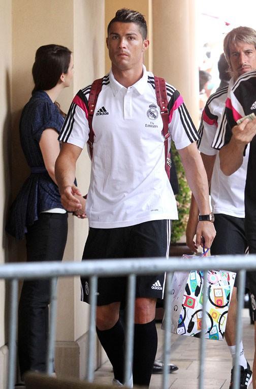 Cristiano Ronaldo à Beverly Hills le 28 juillet 2014