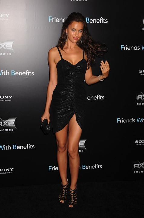 Irina Shayk à l'avant-première de Friends With Benefits à New-York !