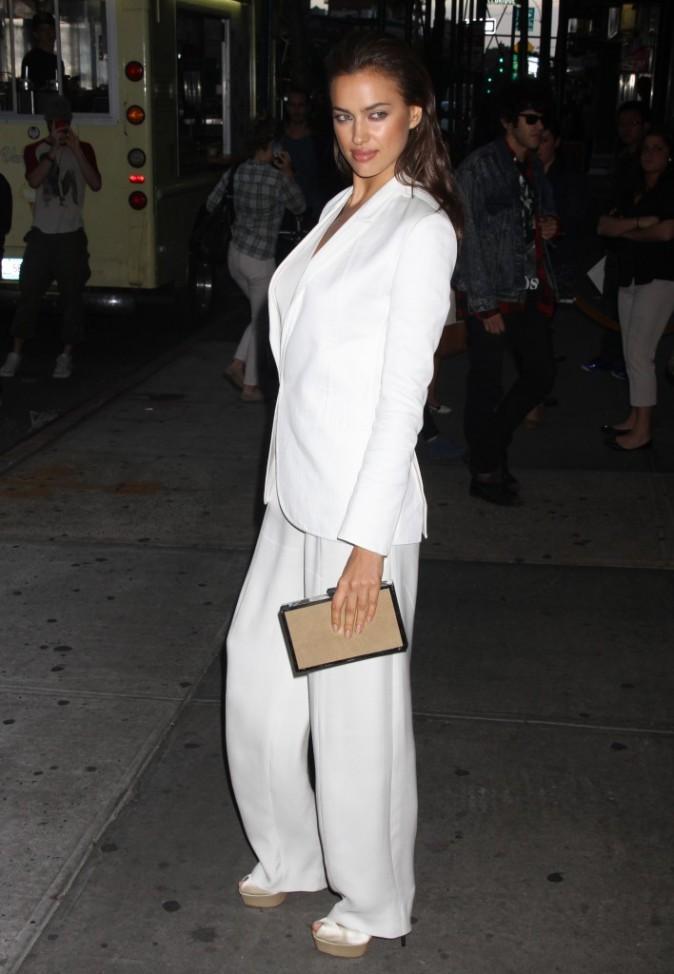 Irina Shayk lors de la première du film Rock of Ages à New York, le 6 juin 2012.