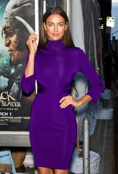 Irina Shayk lors de la soirée de lancement du nouveau numéro de Sports Illustrated à New York, le 12 février 2013.