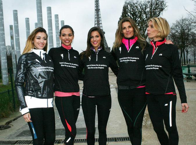 Iris Mittenaere, Marine Lorphelin, Rachel Legrain-Trapani : les Miss courent pour la 30eme Course Du Cœur