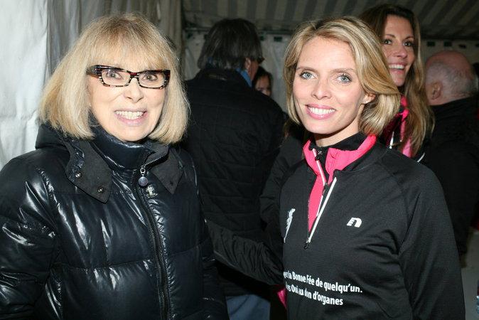 Mireille Darc et Sophie Tellier
