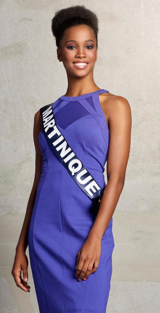 Morgane Edvige, candidate française à la couronne de Miss Monde