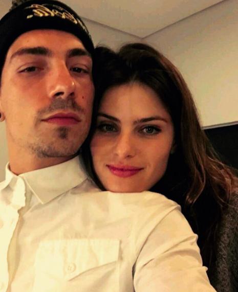 Isabeli Fontana et son mari Diego Ferrero
