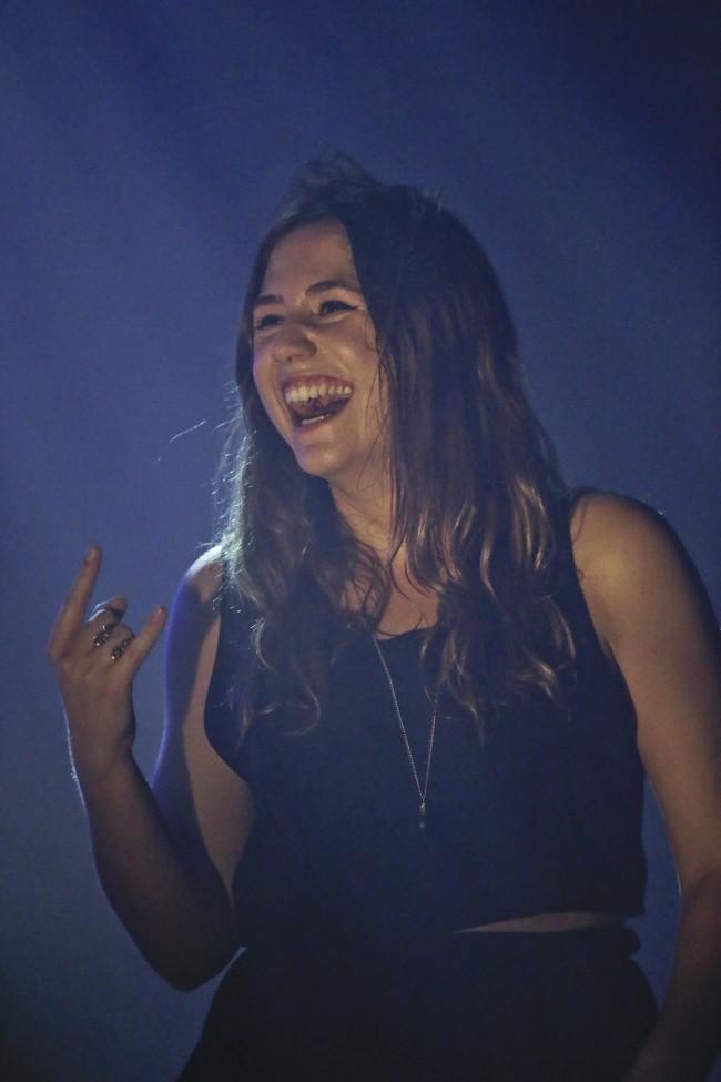 Izia Higelin le 6 décembre 2012 à Paris