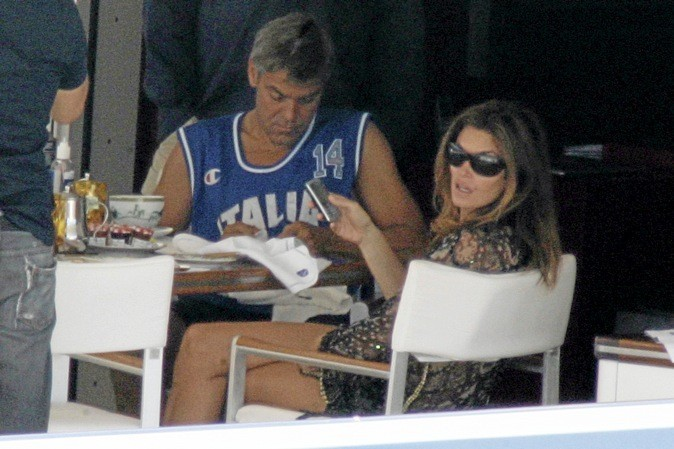 Cindy Crawford : invitée par George !