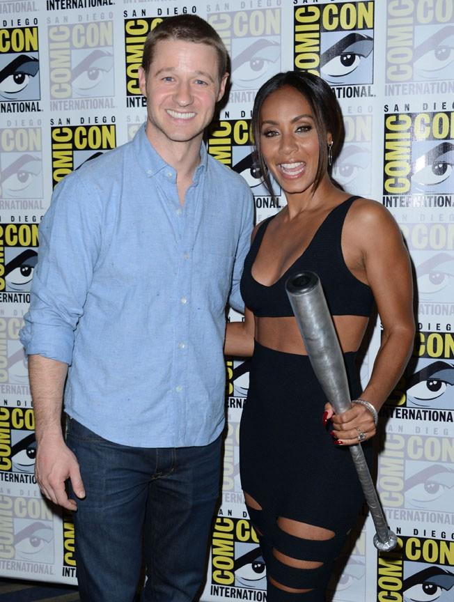 Jada Pinkett Smith et Ben McKenzie au Comic-Con de San Diego le 26 juillet 2014